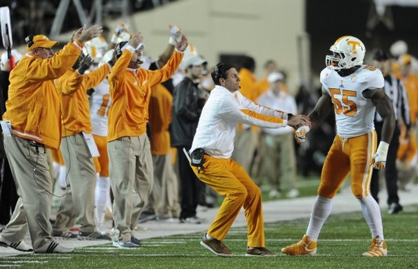 Tennessee Vols will be seeking a new football coach